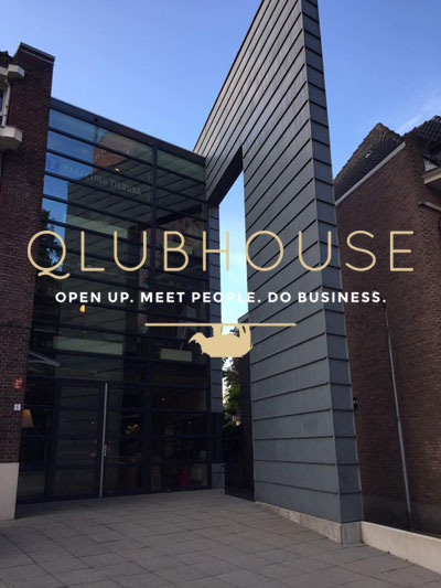 Qlubhouse - Open up - Meet people - Do Business